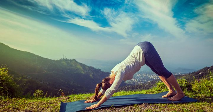 Yoga for Beginners: How to Do Downward-Facing Dog
