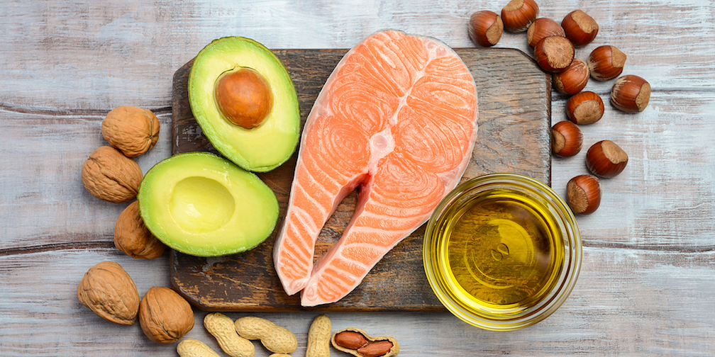 Foods that are good sources of heart-healthy fats