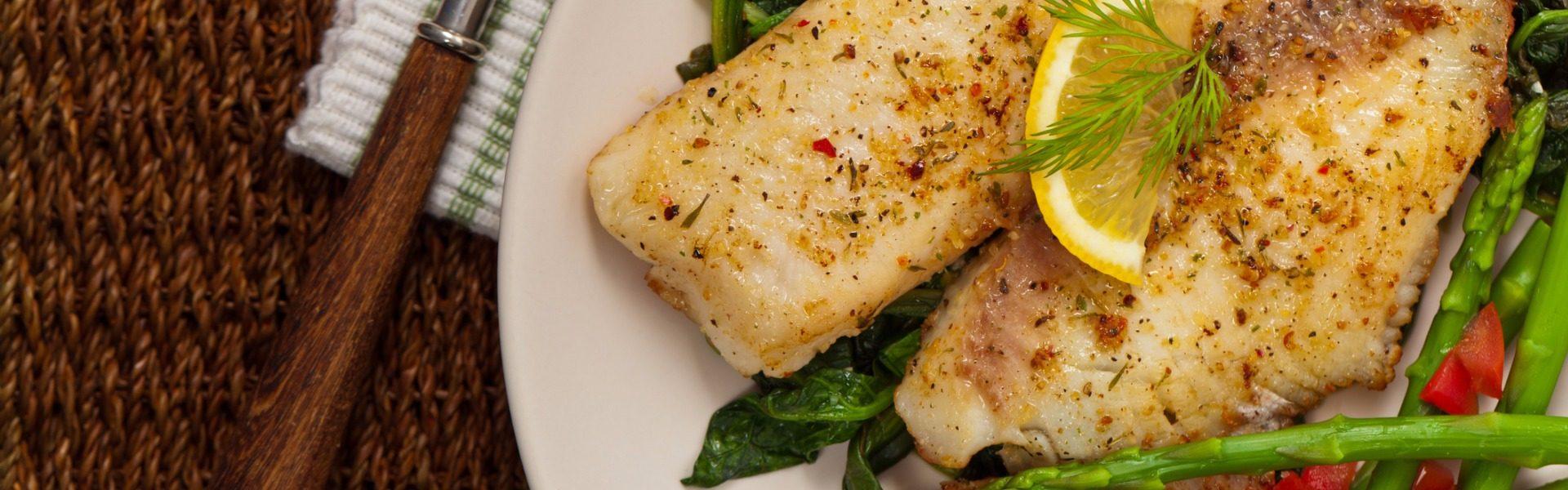 baked salmon and tilapia recipe _ mercy health