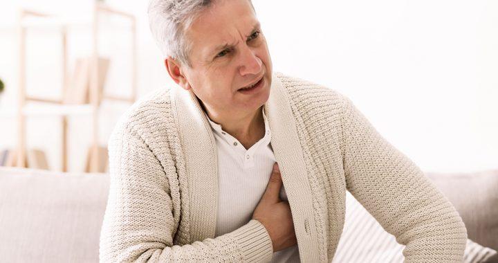 a man with a heart murmur