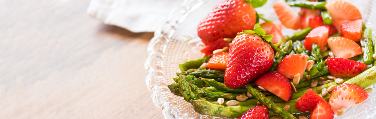 spring fruits and vegetables