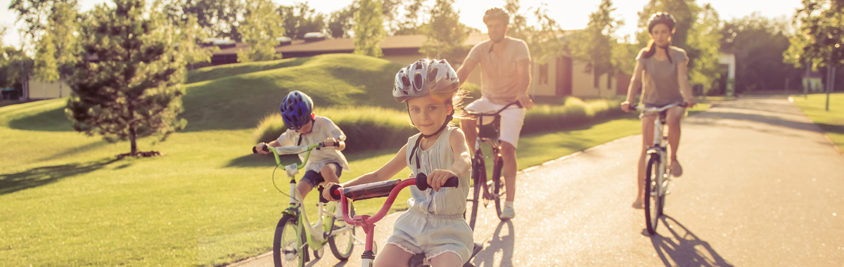 bike riding spring safety