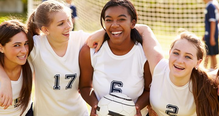 teenage girls sports injuries