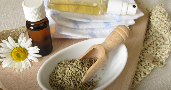 vanilla extract and herbs _ natural ways to keep mosquitoes away