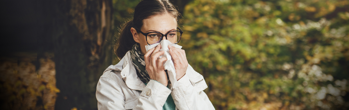 how to deal with fall allergies mercy health