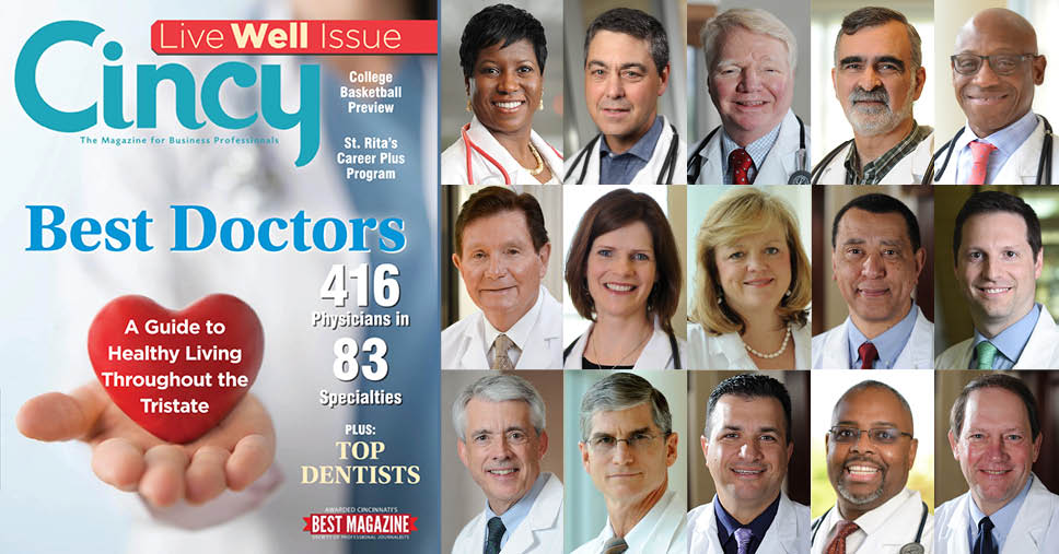 cincy magazine 2019 best doctors in cincinnati