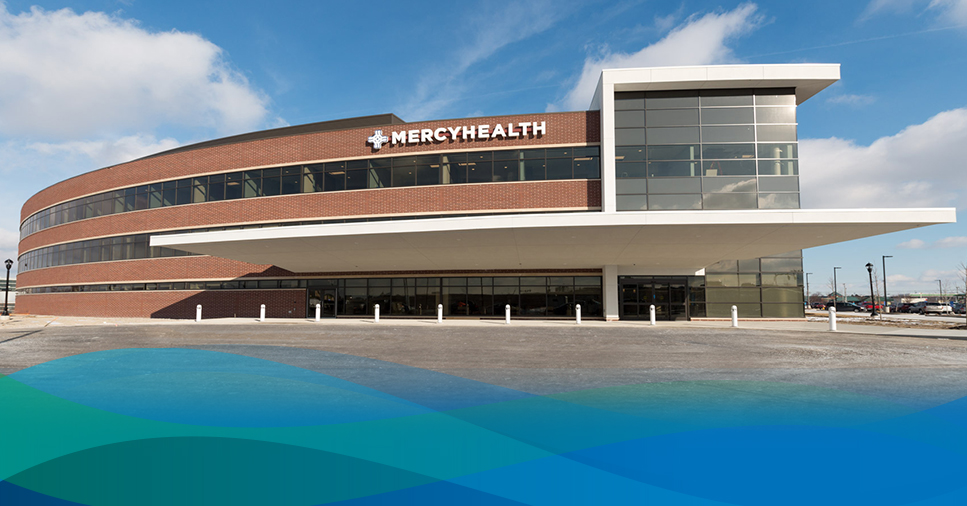 Exterior view of Mercy Health - Perrysburg Hospital