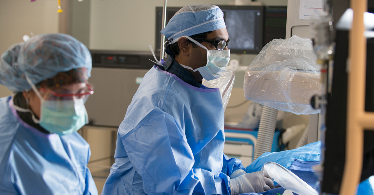 Dr. Rizvi performs emergency surgery on Richard who experienced a widowmaker heart attack