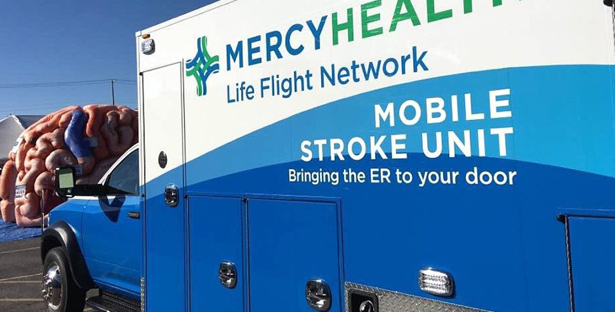 The Mercy Health Mobile Stroke Unit.