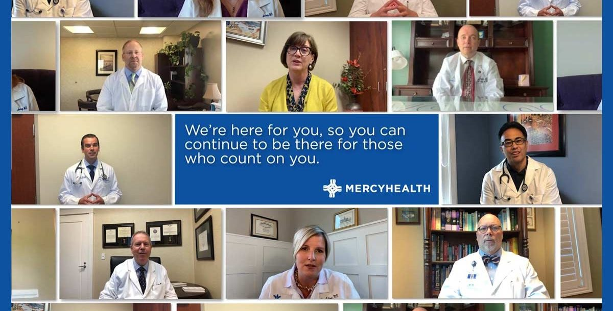 Photo compilation of our Mercy Health providers