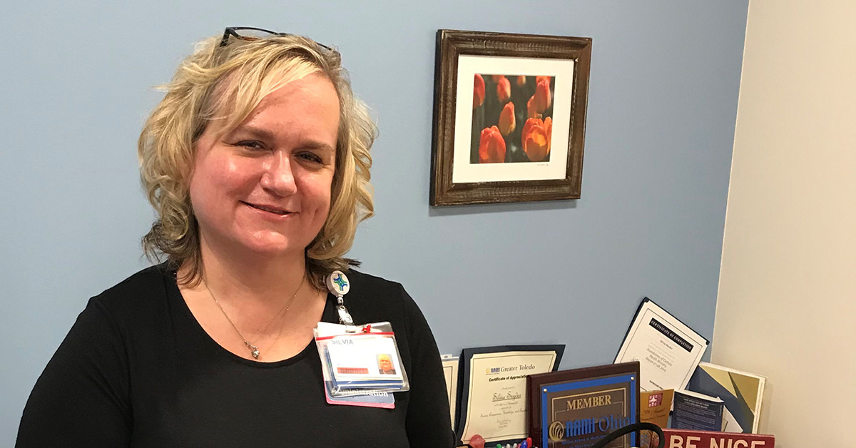 Silvia Snyder, director of operations at St. Charles Hospital in Toledo, OH