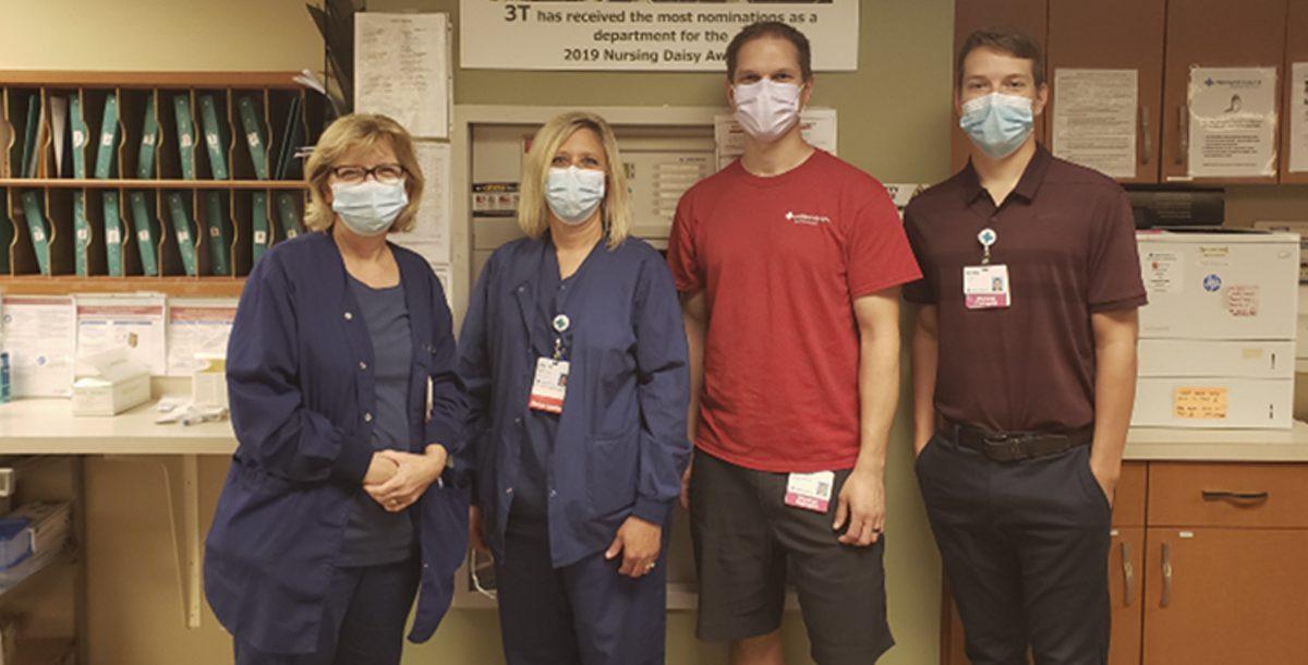 The Fairfield Hospital PPE team