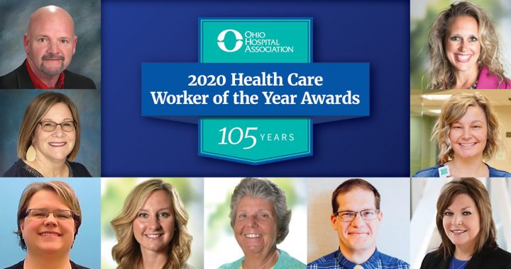 The OHA 2020 Health Care Worker of the Year Awards nominees and finalist from Mercy Health.