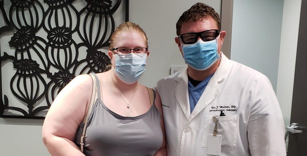 Cassandra Knee with Dr. Ian Walton.