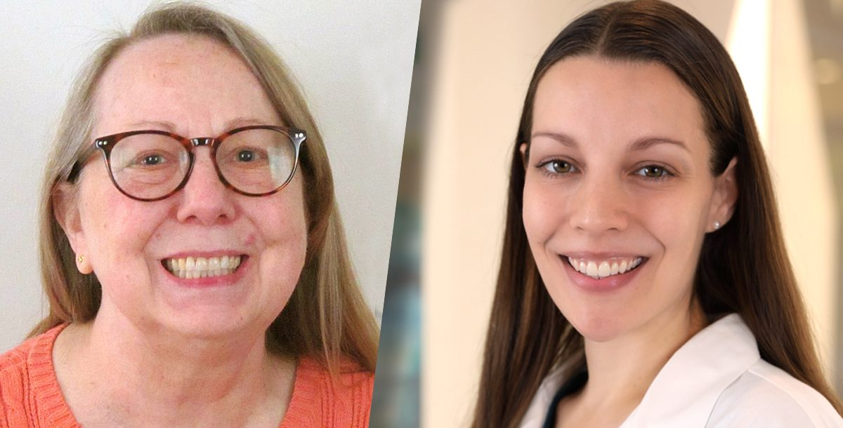 Cindy Hall and Dr. Nicole Melchior