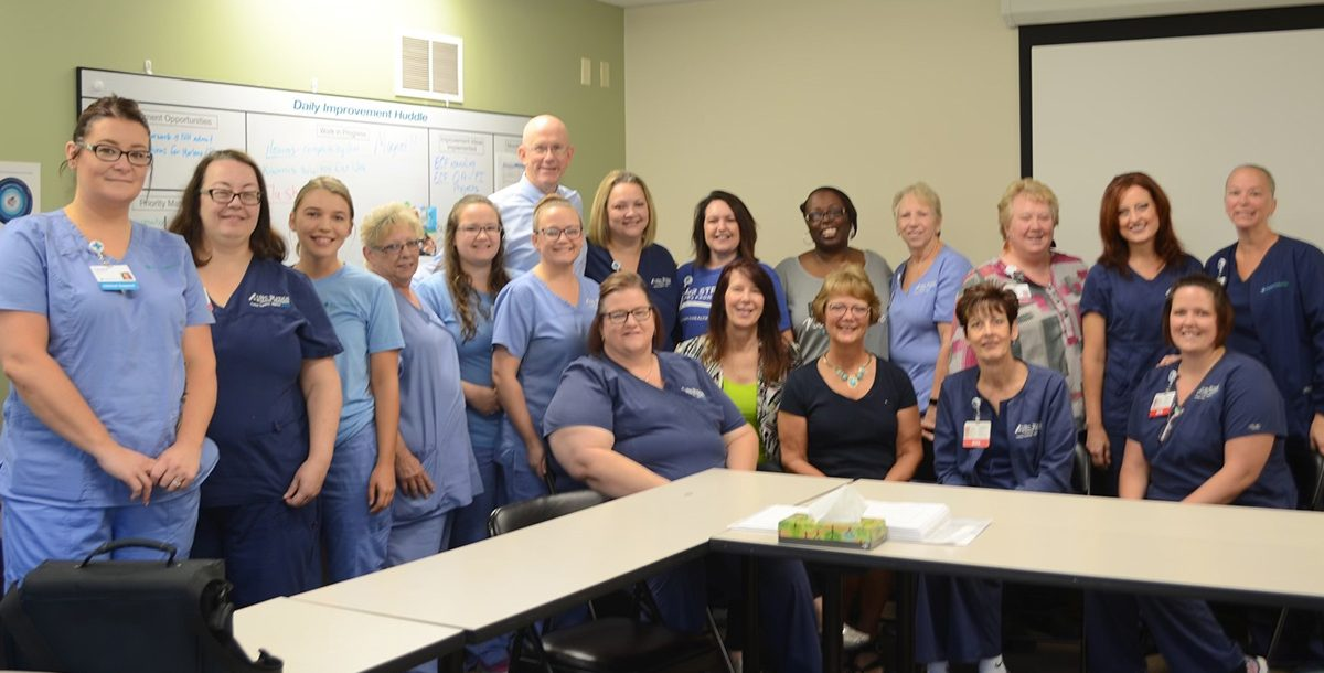 Our Lima hospice nursing team
