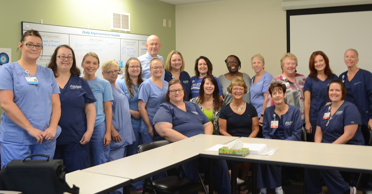 Our Lima hospice nursing team