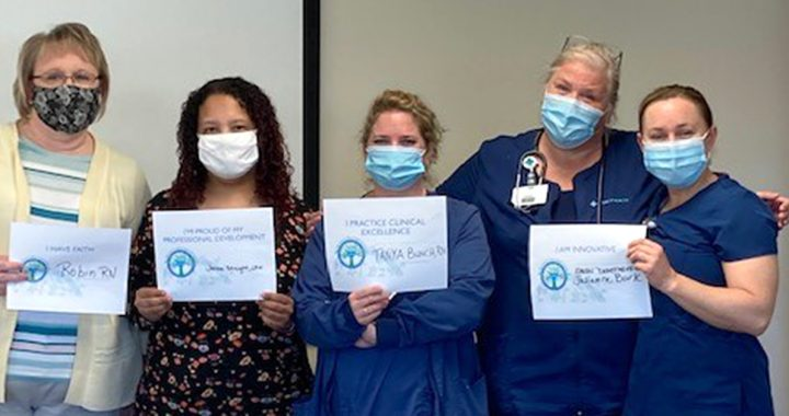 Linda Allen's Lima home care nursing team.