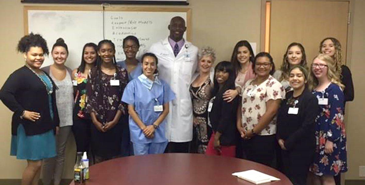 Rising Star Medical interns at Lorain Hospital