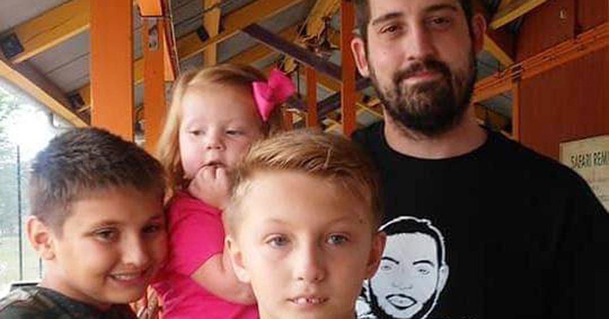 Jeremy Ellison with family