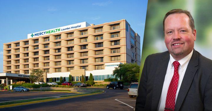 John Montville and Lourdes Hospital