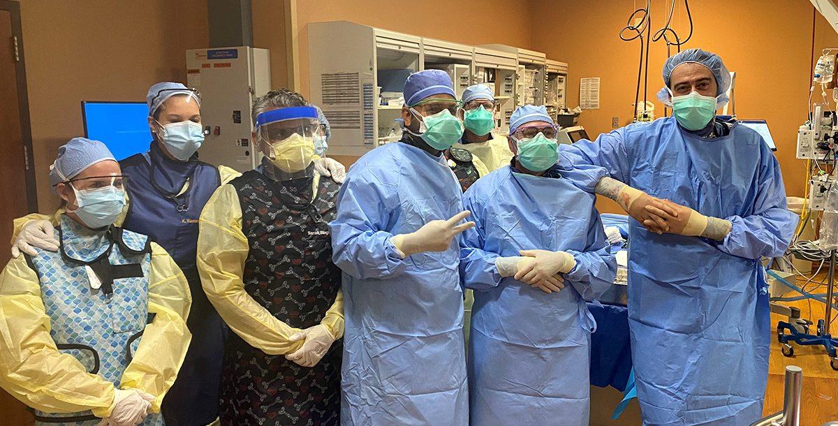 St. Vincent Medical Center ECMO Team