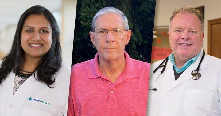 Mita Patel, MD, Richard Stencil and Richard White, MD,