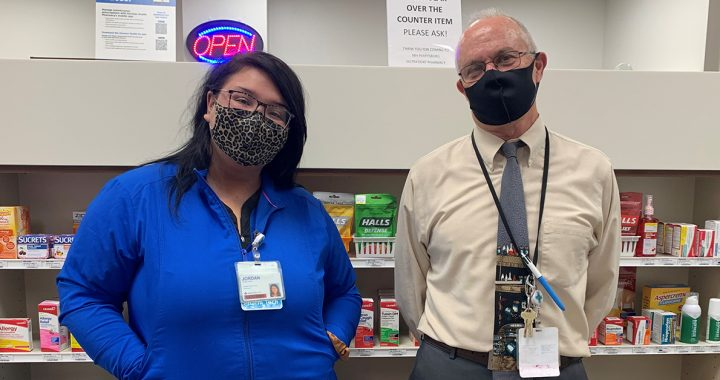 al Pharmacy Week, a time to recognize some of our team members in this line of health care. Meet Greg Kimmel, a pharmacist, and Jordan Briones, a certified pharmacy technician